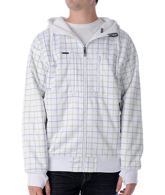 Empyre Hamman White Tech Fleece Jacket