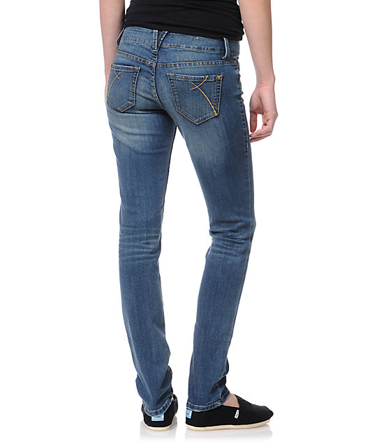 Empyre Hannah Baltic Blue Skinny Jeans