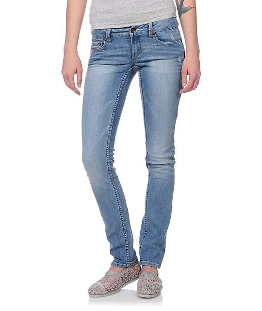 Empyre Hannah Solar Blue Skinny Jeans
