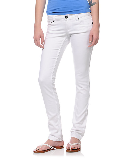 Empyre Hannah White Skinny Jeans