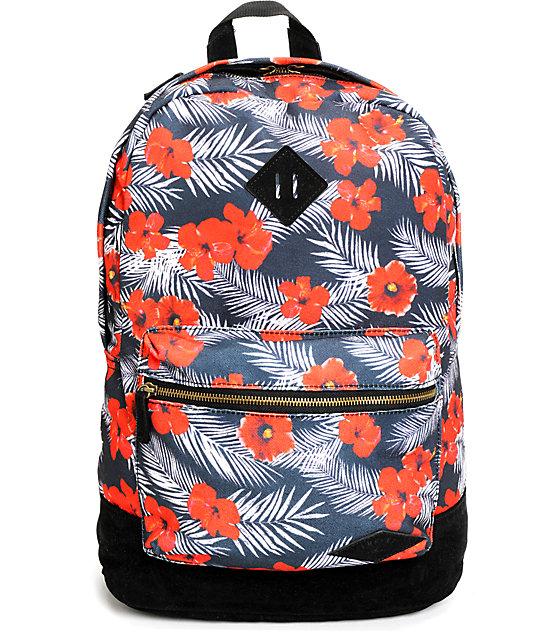 Empyre Harvest Floral Tropical Backpack