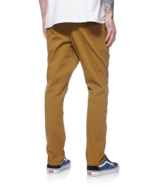 Shop the latest collection of mens elastic cuff khakis pants from the most popular stores - all in. Elastic Bottom Pants Mens DSQUARED2 Dan Elastic Wool Flannel Chino Pants $ Get a Sale Alert 10% Off for New.