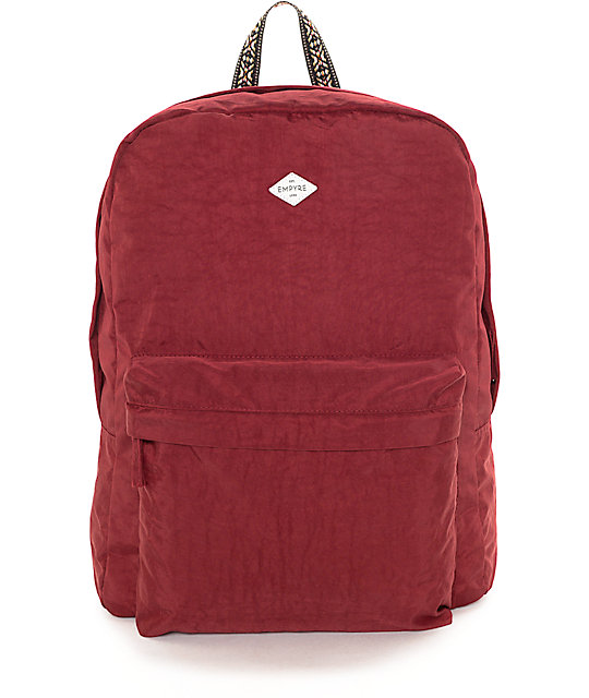 Empyre Heather New Red Wash Backpack