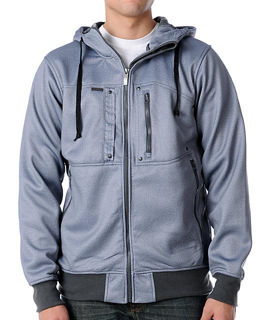 Empyre Heretic Grey Tech Fleece Jacket