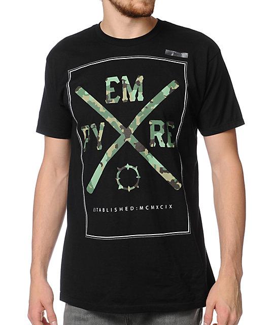 Empyre Hidden Empyre Black T-Shirt