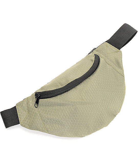 Empyre Honeycomb Ripstop Olive Fanny Pack