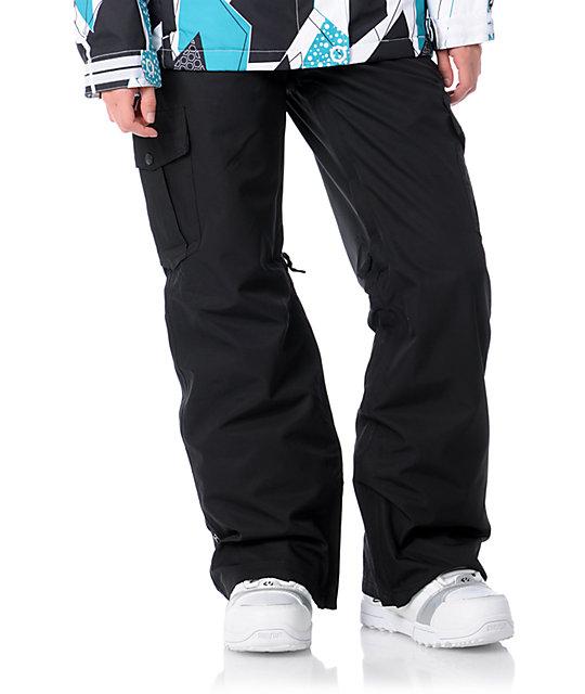 Empyre Hoodwink Black 10K Snowboard Pants