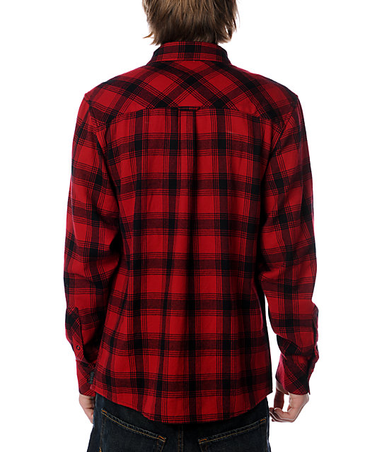 Empyre Initiation Red & Black Woven Shirt