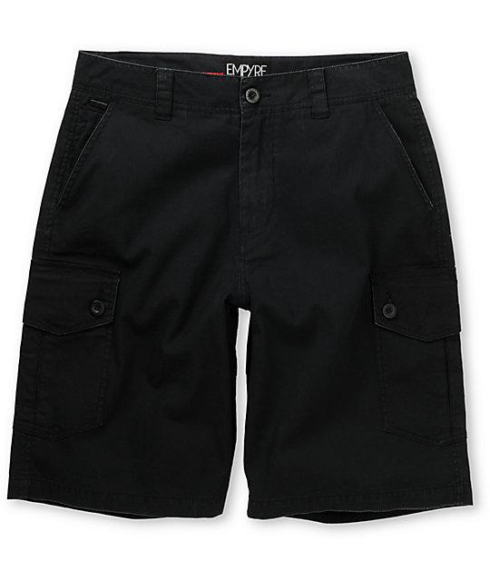 Empyre Insurgent Black Cargo Short