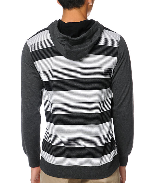 Empyre JK Dark Grey Pullover Hooded Shirt