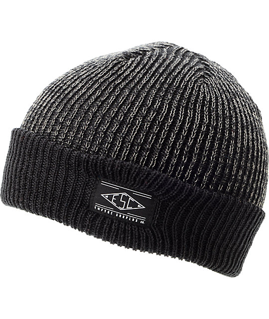 Empyre Jamie Heather Black Cuff Beanie