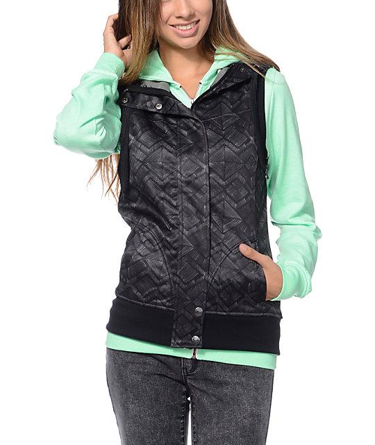 Empyre Joss Black Tech Fleece Vest