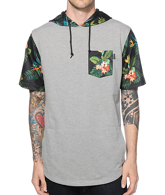 Empyre Jungle Beats Tropical Hooded T-Shirt