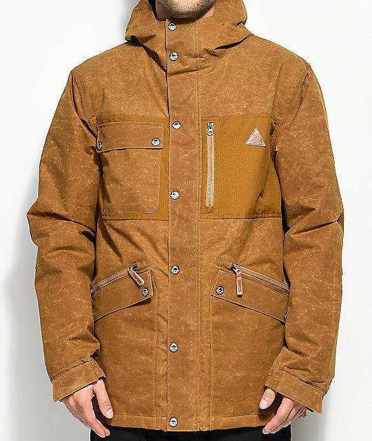 Empyre Juniper Workman Tobacco 10K Snowboard Jacket