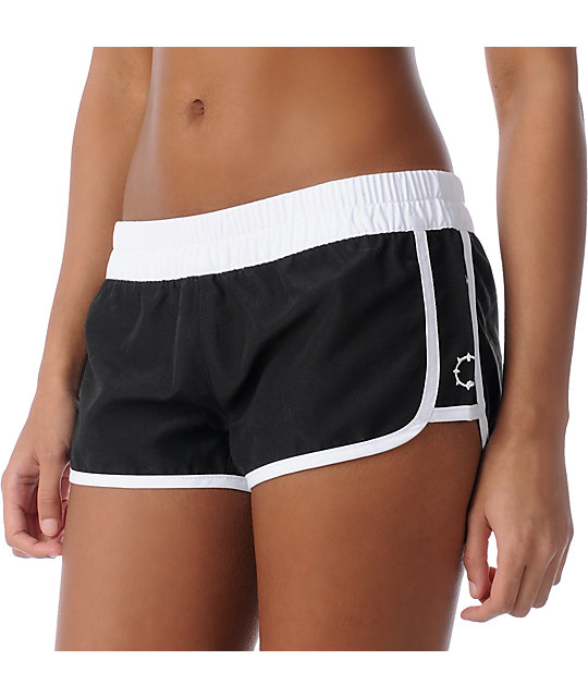 Empyre Kewalos Black Board Shorts