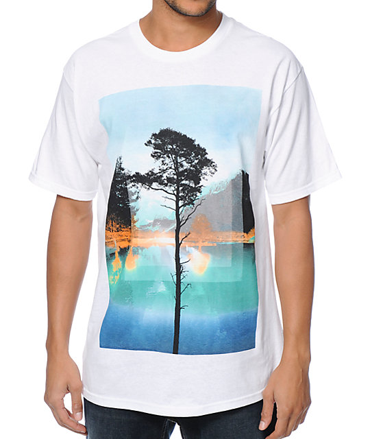 Empyre Lakeside Paradise White T-Shirt