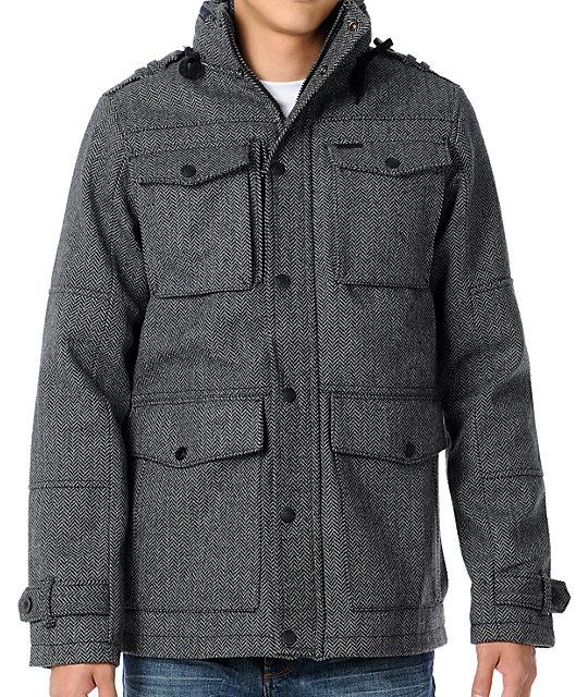 Empyre Landfester M-65 Charcoal Jacket