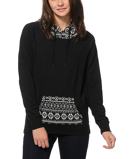 Empyre Larissa Black Tribal Hoodie at Zumiez : PDP
