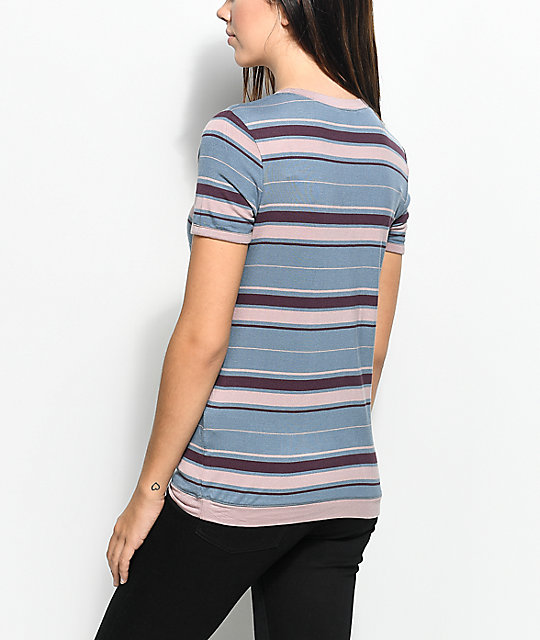 Empyre Lennie Maybe Never Stripe Ringer T-Shirt