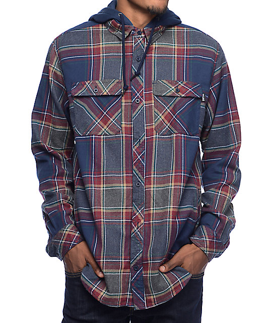 BILLABONG Furnace Pewter Mens Hooded Flannel Shirt $ RIP CURL Freeman Mens Flannel Jacket $ BILLABONG Baja Black Mens Hooded Flannel Shirt $ Men's Flannel Shirts. We bet every guy wishes they had at least one or two more men's flannel shirts to see them through the winter. Consider making these a daily staple in cold.