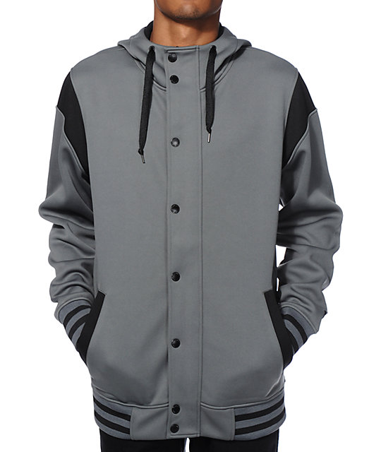 Empyre Lets Roll Varsity Tech Fleece Jacket