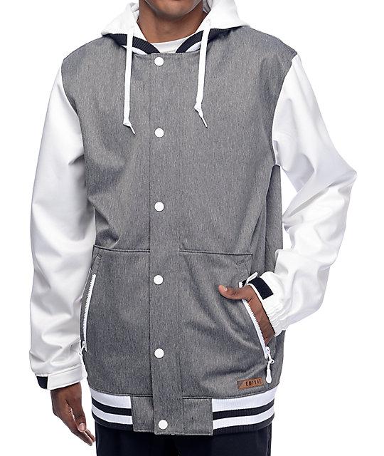 Empyre Lily Express 10K Black Varsity Snowboard Jacket