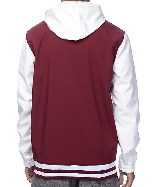Empyre Lily Express 10K Maroon Snowboard Jacket