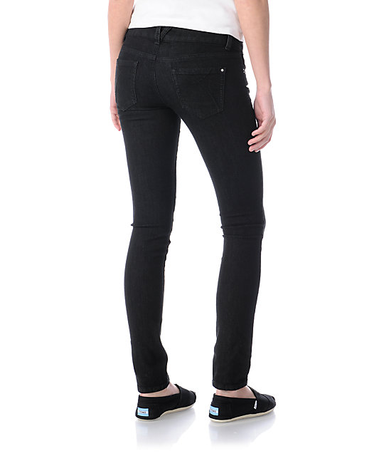 Empyre Logan Black Skinny Jeggings