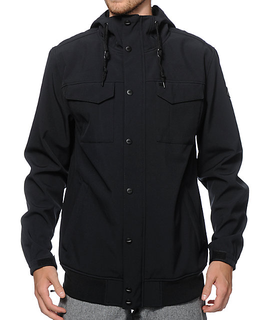 Empyre Luger M65 Softshell Black Snowboard Jacket