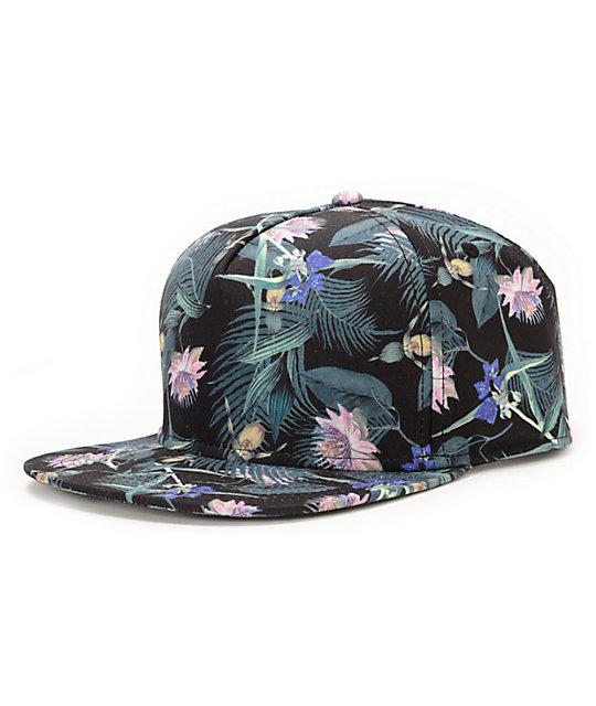 Empyre Magnum Black Strapback Hat