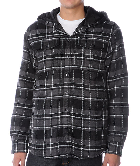 Empyre Maverick Black Flannel Jacket