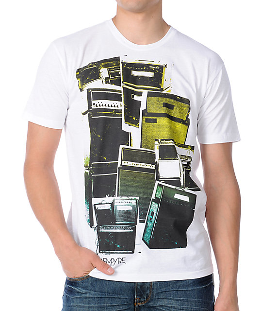 Empyre Mens Crusher Destroyer White T-Shirt