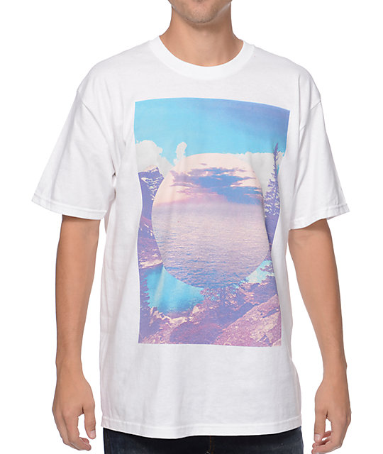 Empyre Mirror Lake White T-Shirt
