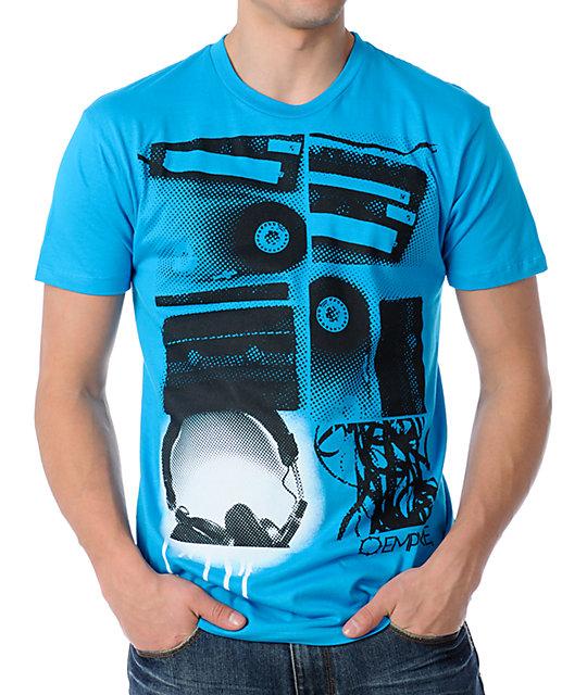 Empyre Mix Tape Blue Mens T-Shirt
