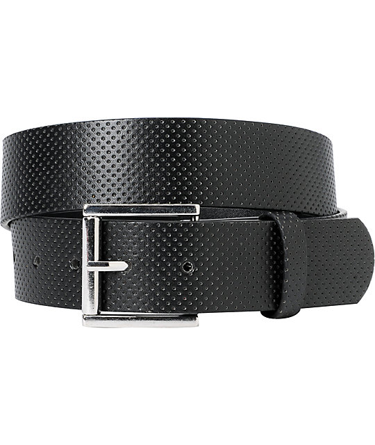 Empyre Nacho Thang Black Perforated Belt