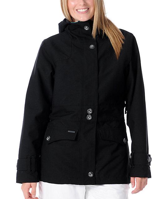 Empyre Nomad Black Solid 10K Snowboard Jacket