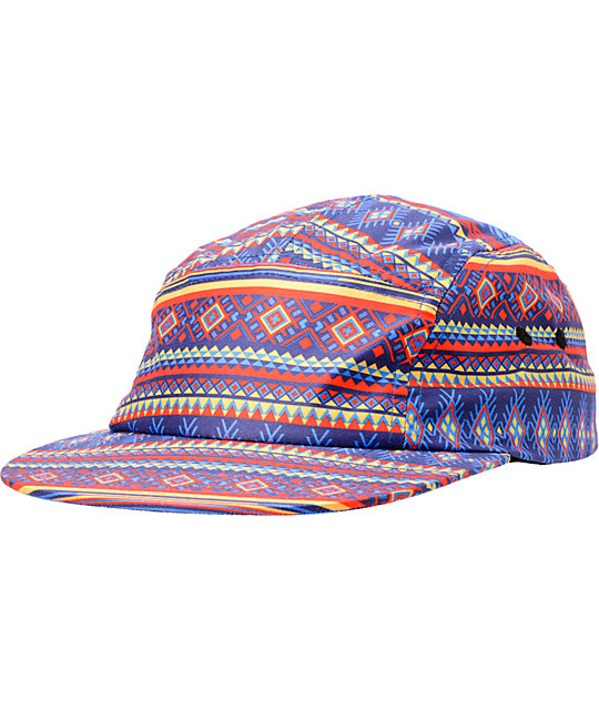 Empyre Nothing Tribal Print 5 Panel Hat