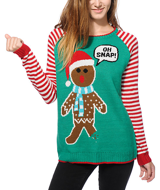 Oh Snap Holiday Sweater