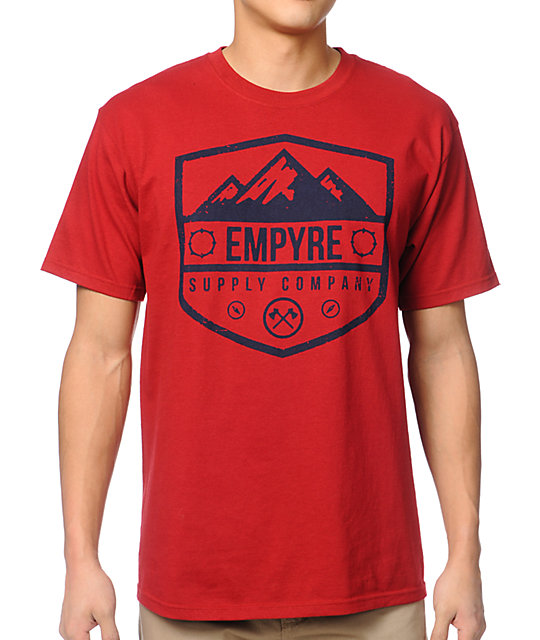 Empyre On The Edge Red T-Shirt