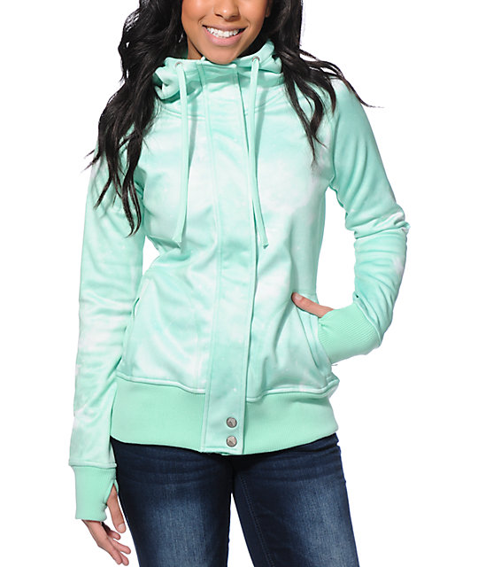 Empyre Oracle Mint Galaxy Tech Fleece Jacket
