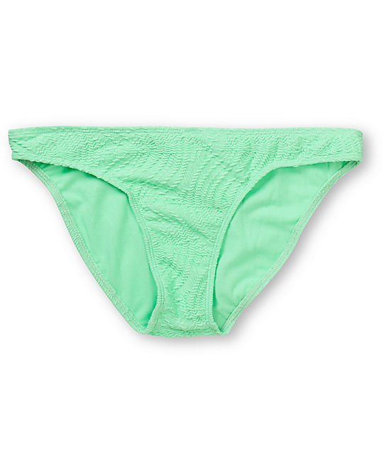 Empyre Oreti Mint Green Crochet Basic Bikini Bottom