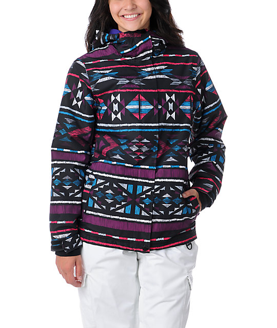 Empyre Palisade Tribal 10K Snowboard Jacket at Zumiez : PDP