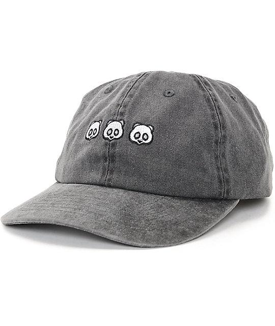 kung fu panda baseball cap cubed black hat front giants