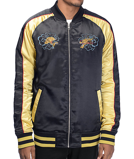 Empyre Passport Black & Gold Souvenir Jacket