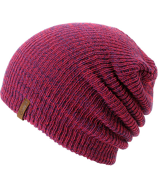 Empyre Piper Pink & Purple Speckle Beanie
