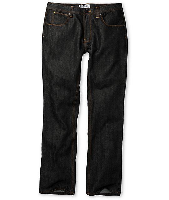 Empyre Pistol Ink Wash Regular Fit Jeans