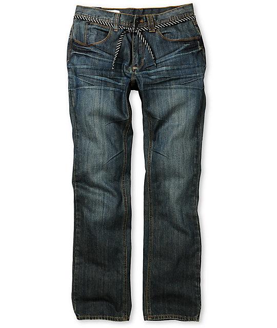 Empyre Pistol Resin Wash Blue Regular Fit Jeans