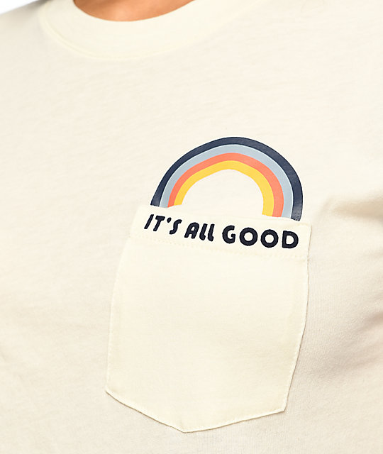 Empyre Pockito All Good Rainbow Pocket T-Shirt