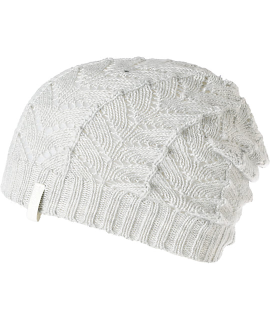 Empyre Polaris Grey Crochet Beanie