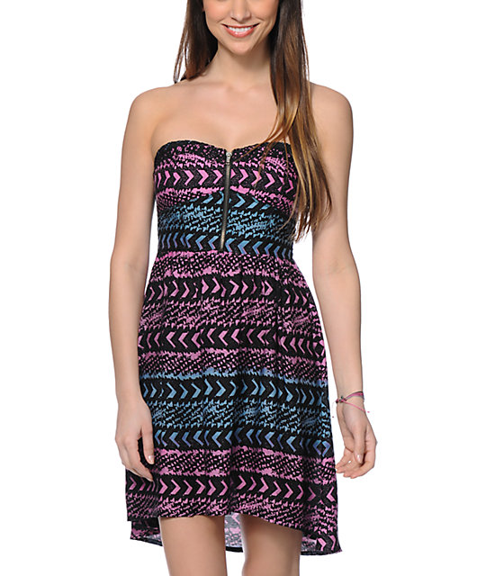 Empyre Polly Tribal Print Dress